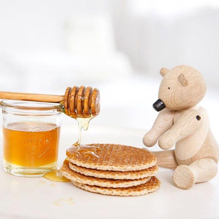 happy honey bear