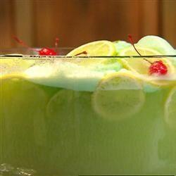 Punch au sorbet de citron vert