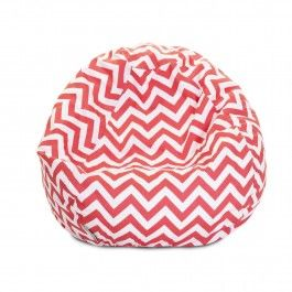 Love This Coral Zigzag Small Beanbag By Majestic Home Goods On Family Is Navy And So These Would Be Perfect Chairs For The Kiddos