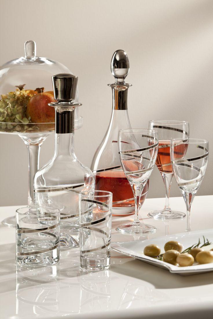 Bernardo Fashion Kadeh Seti / Glass Set #bernardo #tabledesign #glass