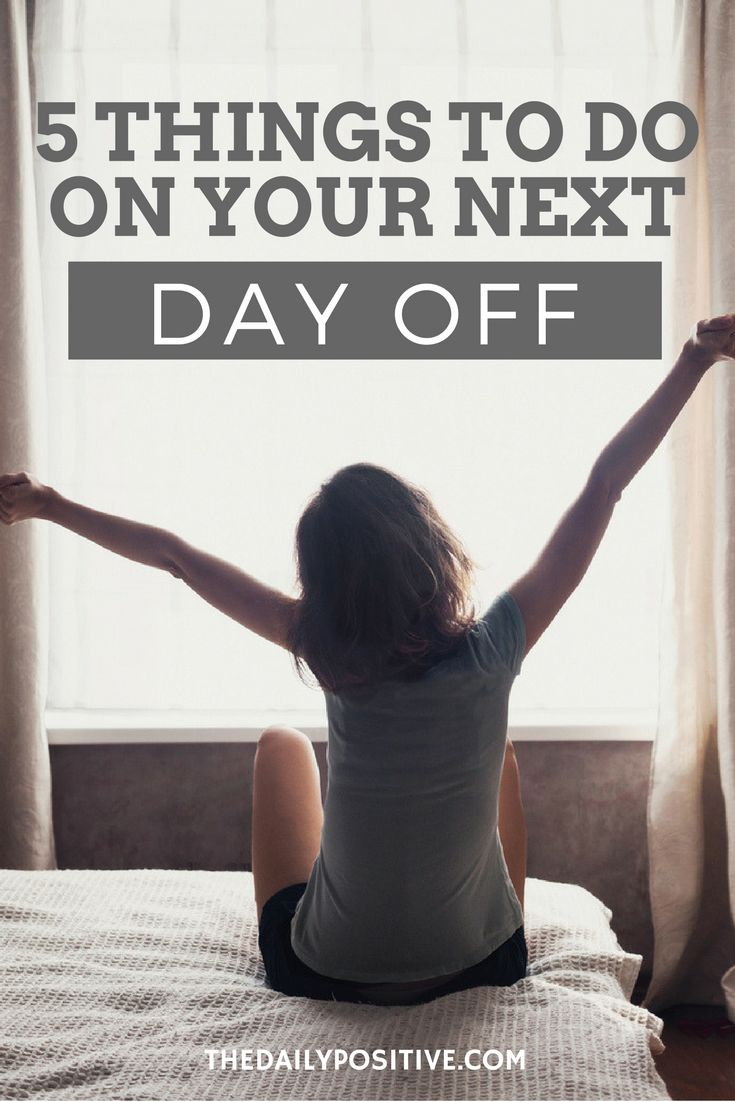 It's important to take time for yourself or burn-out will become a real problem for your job. Taking time off doesn't have to be weeks at a time. Just a day here or there to relax could be just what you need.