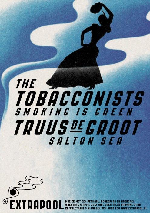 Tobacconists / Truus de Groot #extrapool #poster #redbol