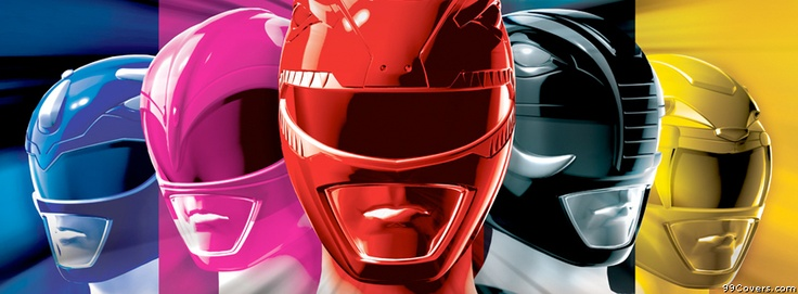 Power Rangers Facebook Covers