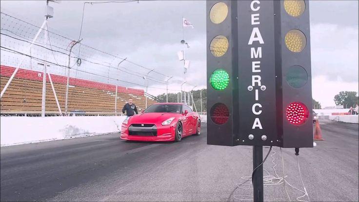 Nissan GTR 2009 vs the clock