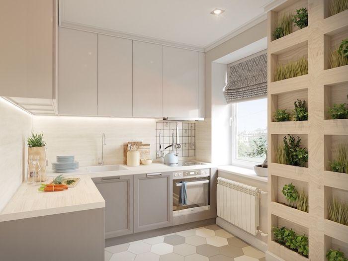 ▷ 1001 + astuces et idées pour aménager une cuisine en L | Cuisine ...