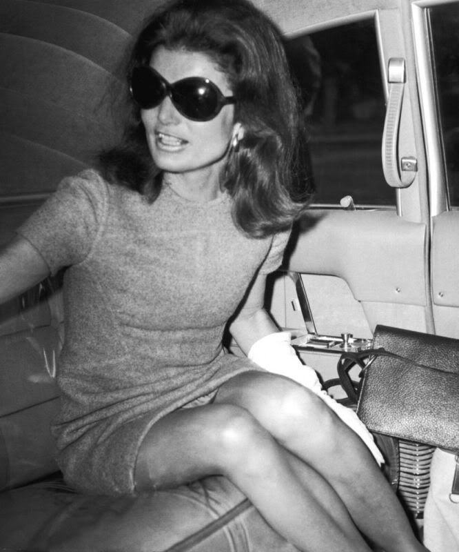 Jackie O in her signature sunnies