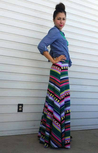 LulaRoe maxi skirt.