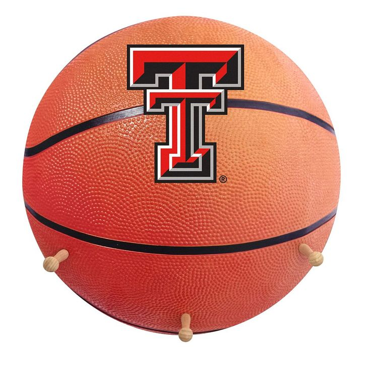 Texas Tech Red Raiders Basketball Coat Hanger, Multicolor