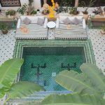 Staying at the Instafamous Le Riad Yasmine