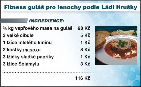 Levně a chutně s Ladislavem Hruškou - fitness guláš