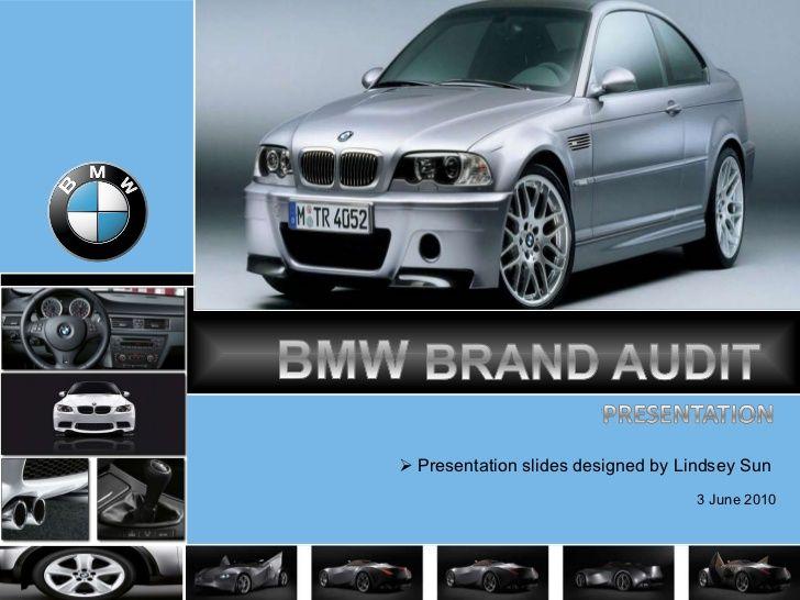 BMW brand audit - presentation