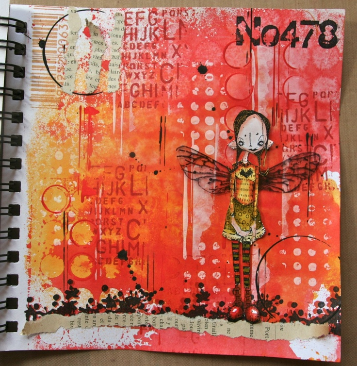 Journaling tutorial from Kate Crane