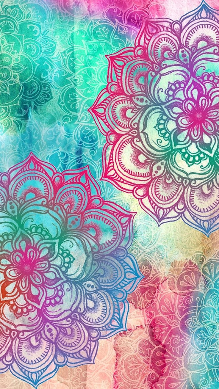 Mandalas zentangle art pinterest wallpaper for Pretty wallpaper for walls