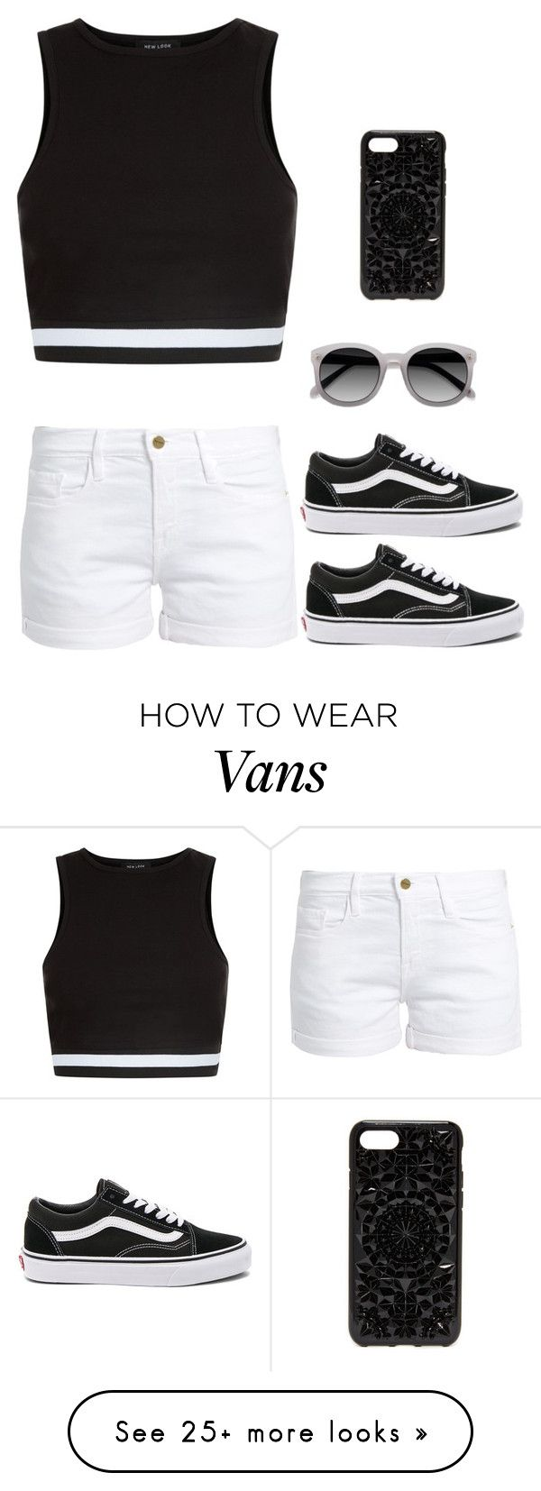 """Hanging out with Eric #33"" by luka1207 on Polyvore featuring New Look, Frame, Vans, EyeBuyDirect.com and Felony Case"