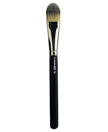 Pro-quality. A foundation brush designed to create a smooth, even finish, flawless look. Works well with any Mac foundation, including Studio Fix and Studio Tech. Use to apply, distribute, and blend f