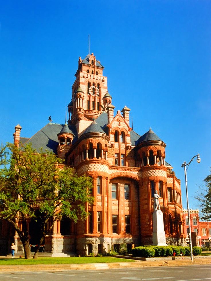 Ellis County Courthouse Texas Taken By Stevenm 61