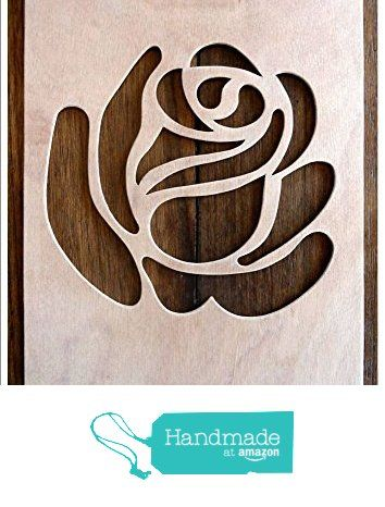 """Beautiful Large Sized Hand Crafted MDF 'Decorative Rose Design' Drawing Template / Stencil (Style 2) - Size: 12"""" x 8.5"""" Overall (30cm x 21cm) from The Andromeda Print Emporium https://www.amazon.co.uk/dp/B01KC59X8W/ref=hnd_sw_r_pi_dp_UwURxbY5NQMQM #handmadeatamazon"""