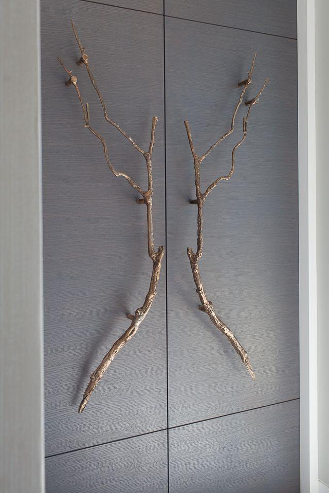 Stephenson Wright Project | Bespoke doors | Bronze branch handles | Interior Design