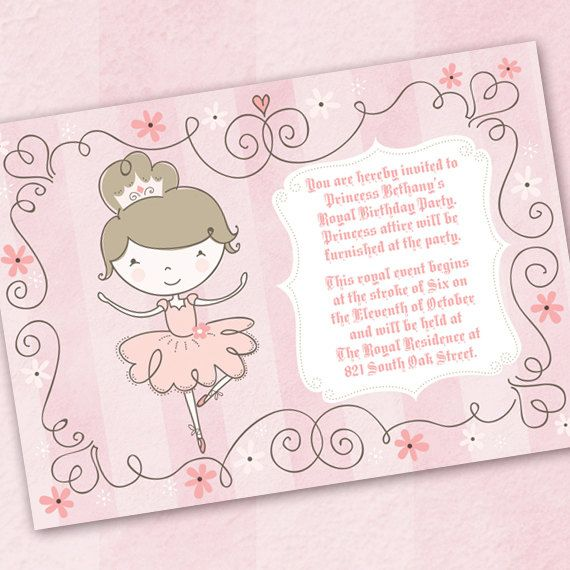 1000+ images about Ballerina Birthday Party on Pinterest ...
