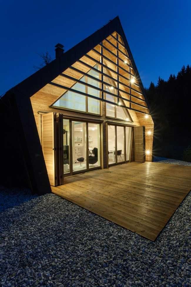 Ocenený drevodom slúži ako úkryt pred nepriazňou počasia | Drevostavby | Stavebníctvo | www.asb.sk