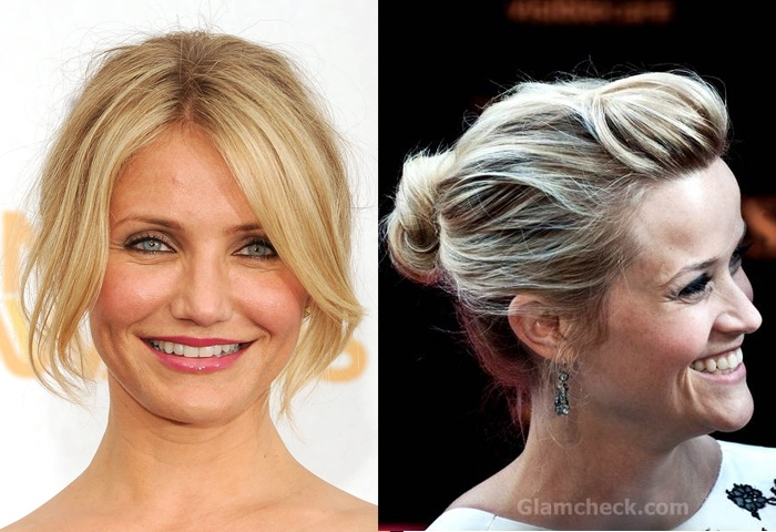 Hair and Make-up by Steph: Styling Tips for Fine Hair - I like Reese's hair here, easy!