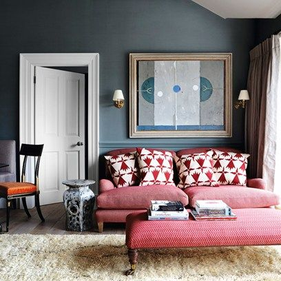 See all our stylish living room design ideas on HOUSE by House & Garden, including this rich and luxurious living room