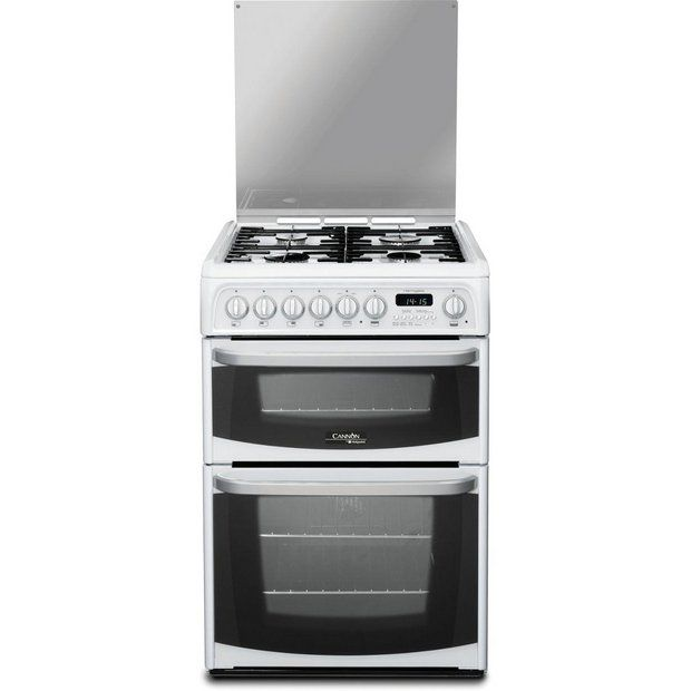 Buy Hotpoint CH60DHWFS Dual Fuel Cooker - White at Argos.co.uk - Your Online Shop for Freestanding cookers, Cooking, Large kitchen appliances, Home and garden.