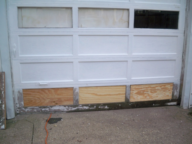 14 Best Images About Damaged Garage Doors On Pinterest