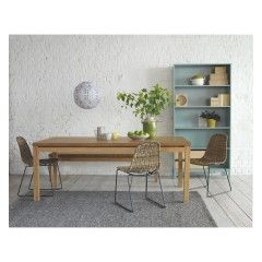 MICKEY Synthetic rattan dining chair