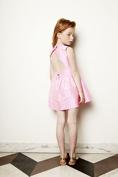 Dehlia Dress - Hot Pink - Sold out! - My Little Dress Up