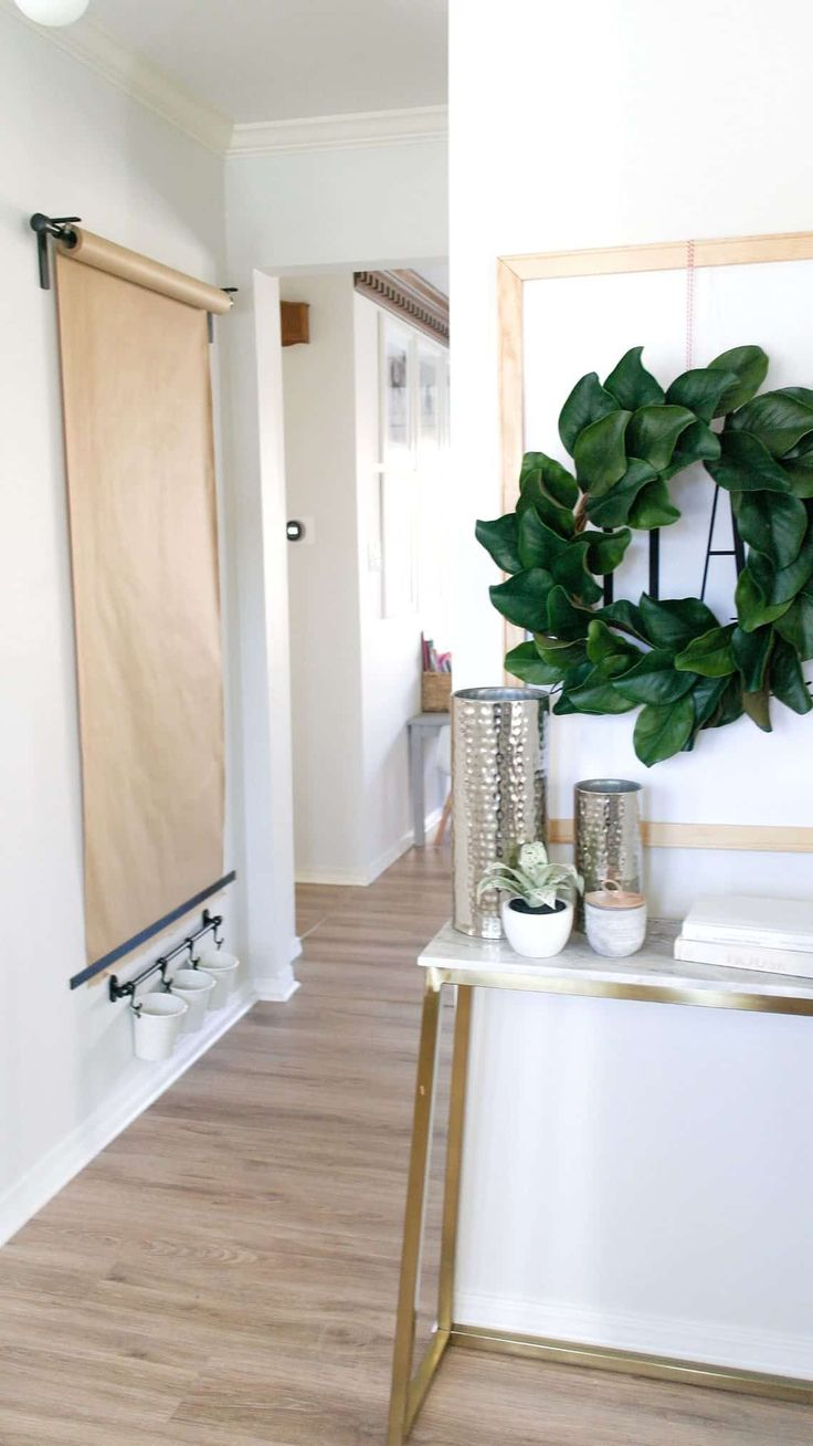 Diy wall mounted easel ikea hack done on a budget so your