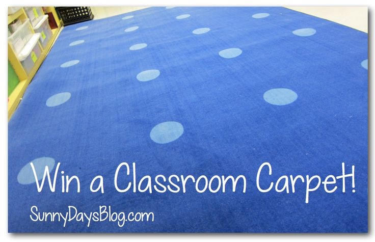 Win a Classroom Carpet! {Contest ends 6/15/2014}