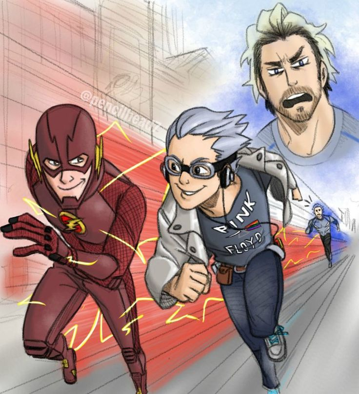 """Lol why is Pietro slower than the other Quicksilver? (I forget his name)""…"