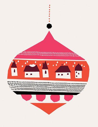 Christmas card by Nicholas John Frith