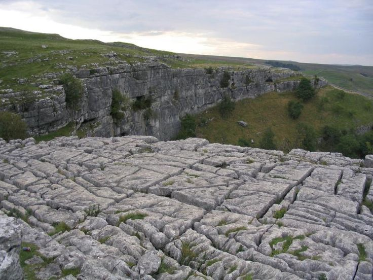 Malham Cove- location for filming of the last Harry Potter movie...want to go here!