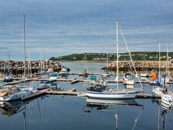 La Marina de Baie-Comeau  Credit: Mathieu Dupuis