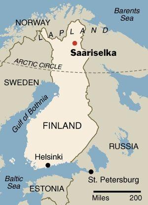 I WAW THERE  Saariselka (SF)