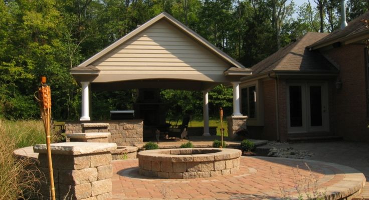 Backyard Pavilions Roderick Backyard Xenia Ohio The