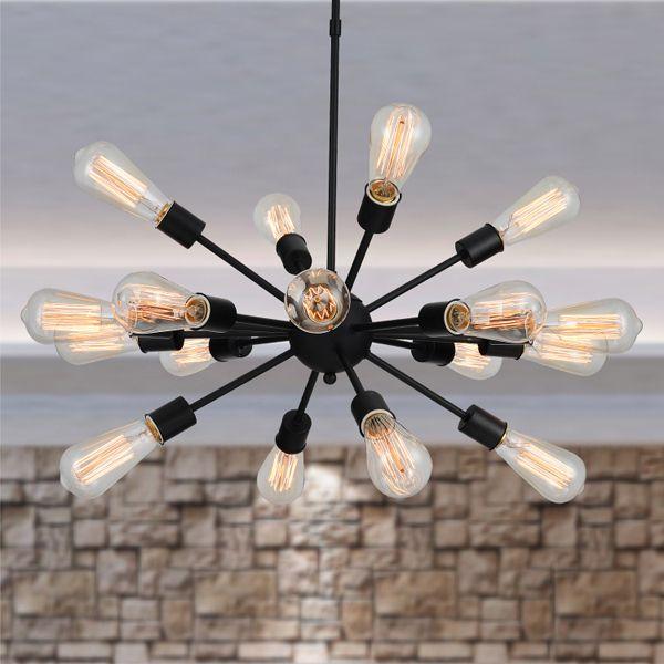 E27 Retro Edison Vintage Modern Style Pendant Iron Material Lamp lampe Lights lampada Decoration