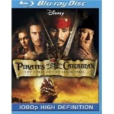 Pirates of the Caribbean: The Curse of the Black Pearl [Blu-ray] (Blu-ray)By Johnny Depp
