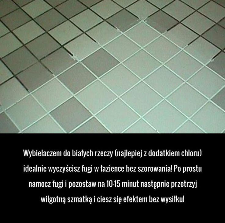 Super sposób na czyste fugi w łazience!