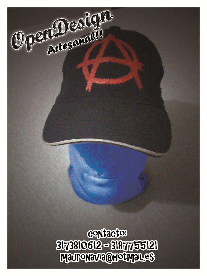 gorra Anarquia