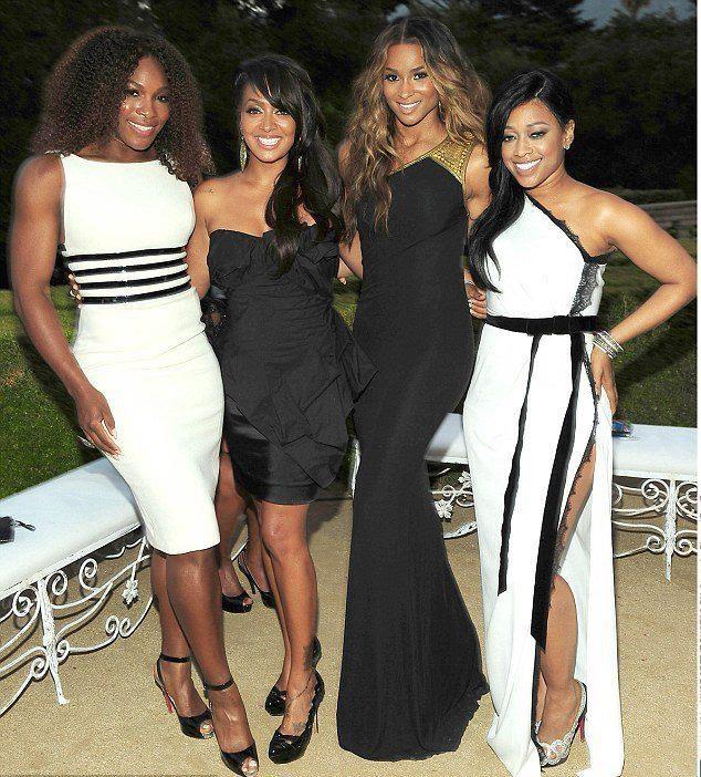 Serena Williams & Lala & Ciara & Trina ♥