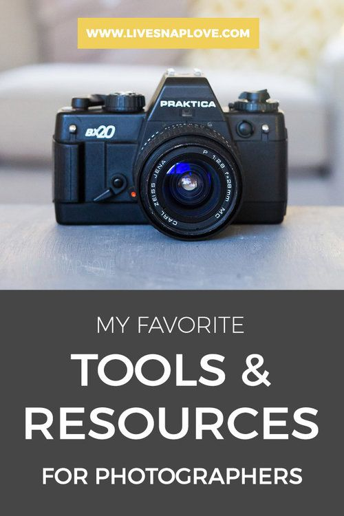 Photography Tips |  Photography Gear | My favourite tools and resources for photographers.