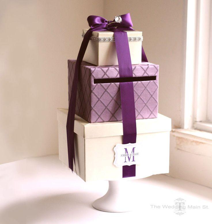 Card Box Wedding Money Holder Wedding Card