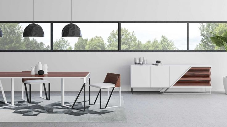 Modern Sideboards to decorate your dining room!   #diningroom #sideboard #aparador #interiordesign #decoration #homeinteriors #decortrends #inspiration #home #homeinteriors
