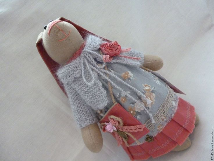 Купить Заяц тильда  Зоюшка - заяц тильда, заяц игрушка, заяц, хлопок 100%, кружево