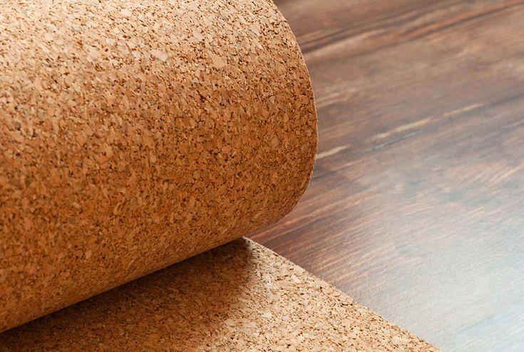AcoustiCORK™ Cork Underlayment Rolls and Cork Planks under engineered hard wood will abate noise in house and condos