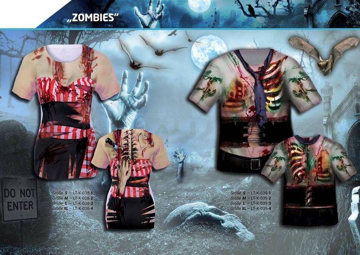 Zombie Shirt, Klasse Verkleidung und Kostüm für Fasching, Karneval, Fastnacht, Party, Halloween oder andere lustige Gelegenheiten. Blutige Angelegenheit …