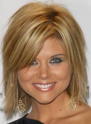 Tiffani Amber Thiessen Bob Haircut | Thiessen - Тиффани Тиссен - Tiffani Amber Thiessen ...